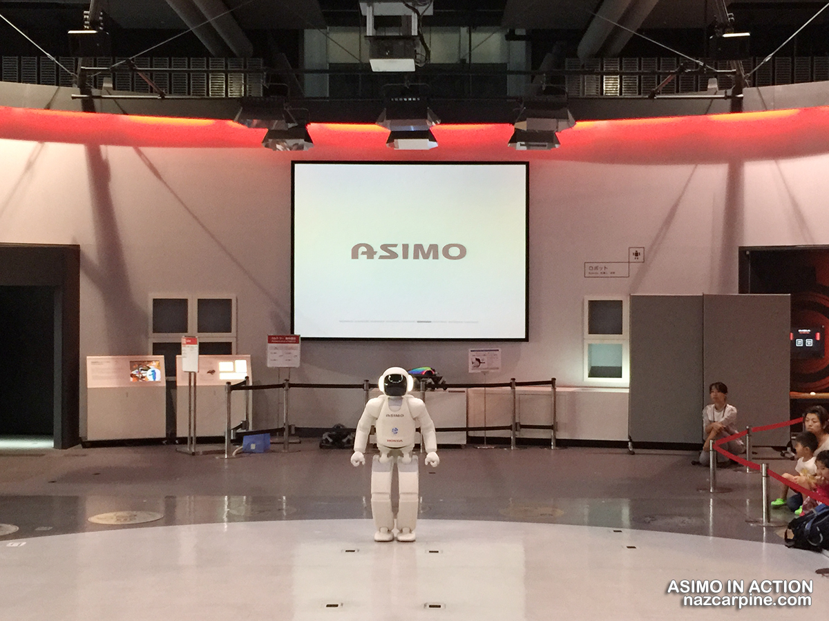 Asimo in Action